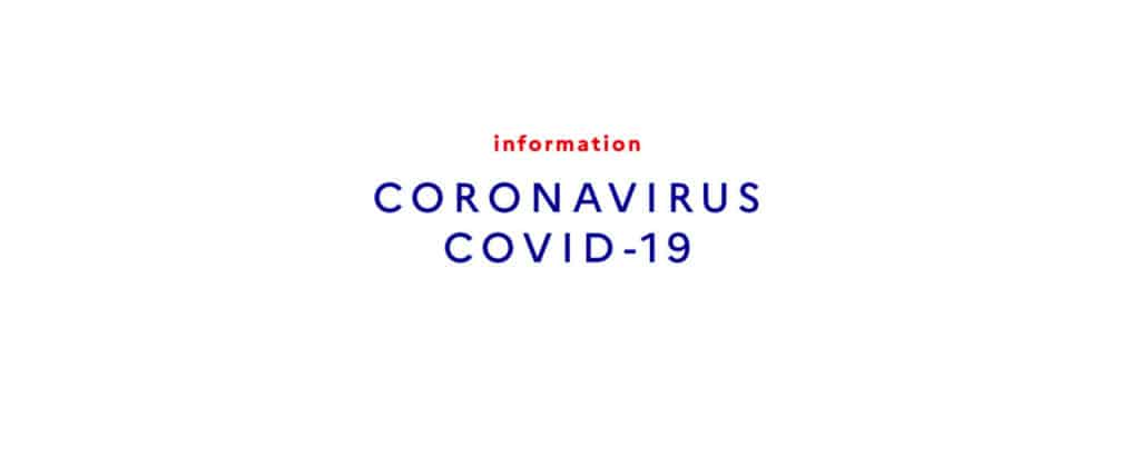Special measures for Covid 19